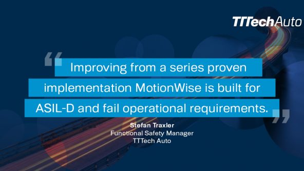 Expert Talks: Stefan Traxler on the most critical safety considerations of MotionWise